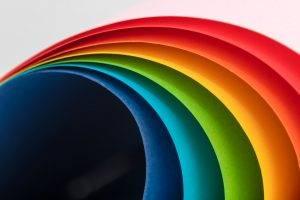 ukážka farebný papier